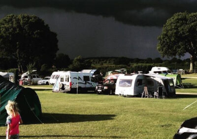 Storm in the New Forest