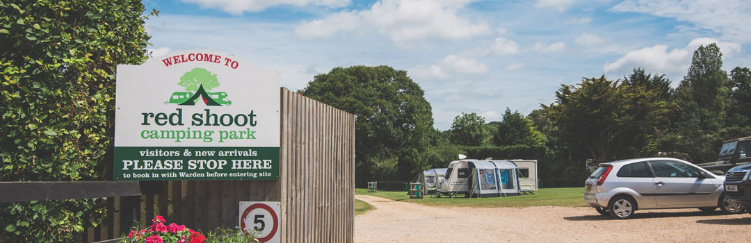 Disabled facilities at Red Shoot Camping Park