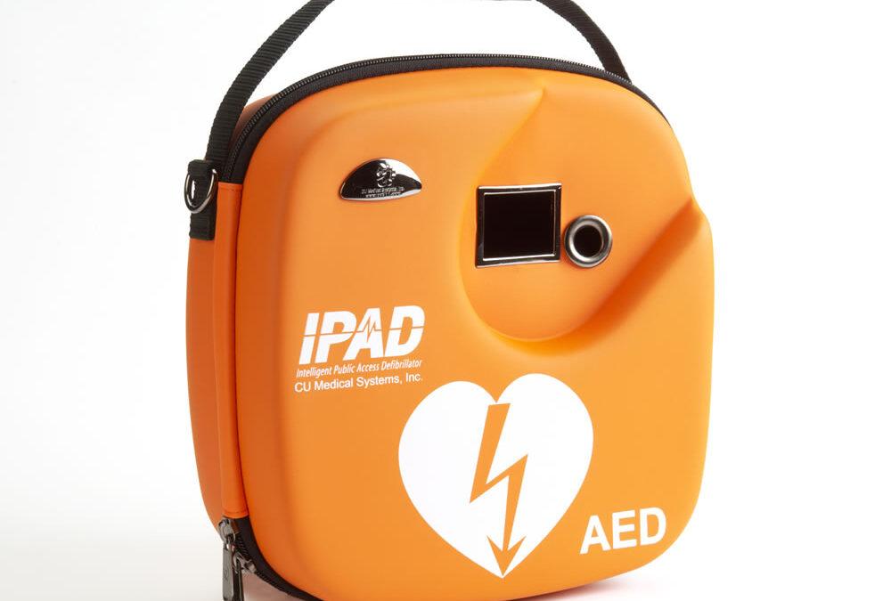 Life-saving defibrillator in Linwood