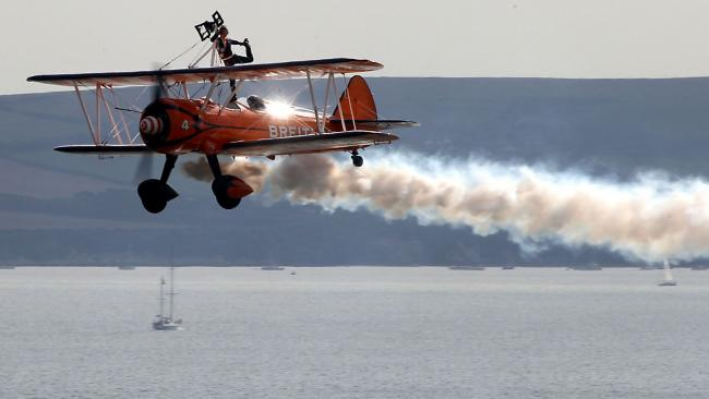 Wingwalkers are back! This year's line-up for the Bournemouth Air Festival revealed
