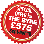 Special Offer on The Byre £575 in Sept-Oct 2018